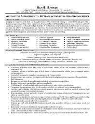 SampleBusinessResume com   Page    of      Business Resume     SampleBusinessResume com     Insurance Appraiser Resume Example
