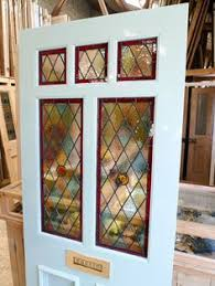 stained glass door film beautiful blue victorian style stained glass front door doors