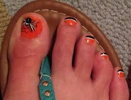 best 20 orange toe nails ideas on pinterest orange pedicure
