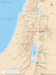 Exodus Route Map by