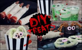 Easy Treats For Halloween Party by Diy Halloween Snack Ideas No Cook Quick U0026 Easy Youtube