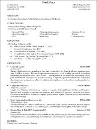 Best College Resumes by College Graduate Resume Template Examples Of A College Resume