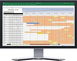 Software For Spreadsheets Wfm Software Combined With Excel Spreadsheets Spreadsheet Scheduler
