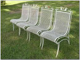 vintage wrought iron patio furniture woodard patios home