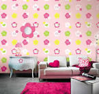 Fun Wallpaper for Interior Design to Make Room More Attractive ...