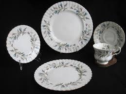 royal albert china dishes brigadoon pattern or thistle fabfindsblog