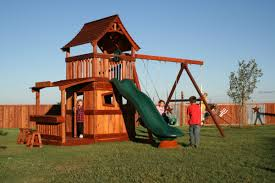 Cedar Playsets Home Adventures Outback