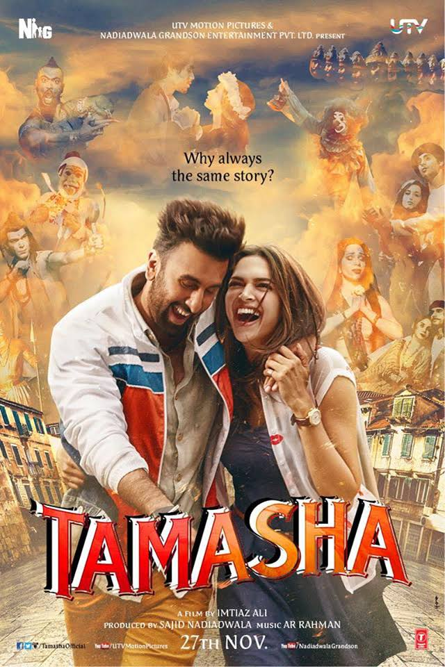 Tamasha (2015) Hindi – 720p DESISCR – 1GB – ShAaNiG