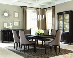 Contemporary Dining Room Table by Formal Contemporary Dining Room Sets With Brown Finish Classics