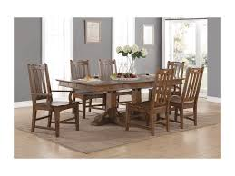 flexsteel wynwood collection sonora mission formal dining table