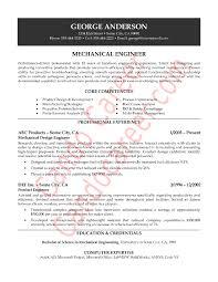 Mechanical Engineering Resume Sample PDF  Experienced  happytom co