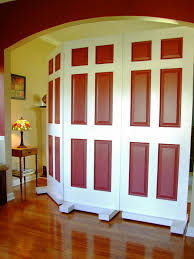 Room Dividers How To Build A Privacy Screen Using Door How Tos Diy