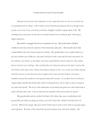Personal statement examples architecture BrightLink Prep