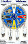 MEDICINE WHEEL DECAL [D-1] - $6.00 : Cherokee Publications, Your ...