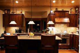 kitchen creative above kitchen cabinet decorating ideas interior