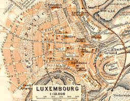 Luxembourg Map Free Maps Of Northern Europe