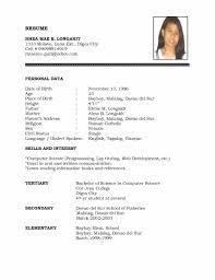 Blank Resume Examples Resume Templates Remarkable Basic Examples Of Resumes Example