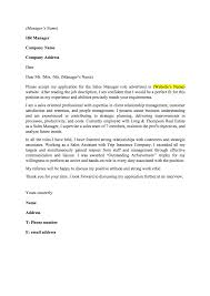 example of cover letter for sales assistant insurance assistant cover letter