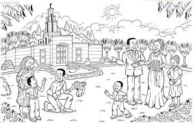 temple clipart teaching lds children