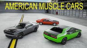 Fastest Muscle Car - fastest american muscle cars youtube