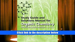 pdf study guide solutions manual for organic chemistry peter