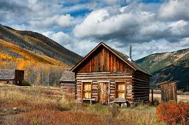 Log Home For Sale Southwest Colorado Color Miner Log Cabin Ashcroft Ghost Town