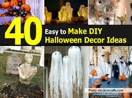 halloween home decorations homemade halloween decor ideas home design ideas fancy in homemade