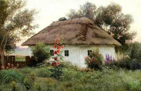 україна, село, пейхажі україни