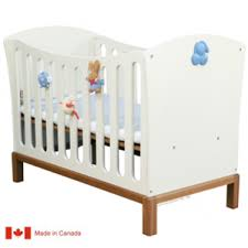 blue convertible crib