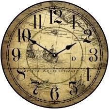 tan map clock the big clock store