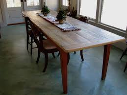 narrow dining tables dining neat reclaimed wood dining table