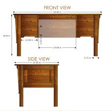 Wooden Chair Front View Png Flattop Desks Wood Revival