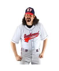 Halloween Baseball Costume Kenny Powers Halloween Costume Kit Men Costume