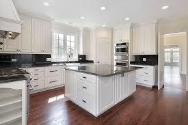 Dark And White Kitchen Cabinets Dark Kitchen Cabinets And Dark Granite Amazing Deluxe Home Design
