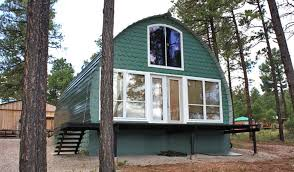 Small Affordable Homes Prefabricated Arched Cabins Can Provide A Warm Home For Under