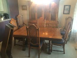 Thomasville Dining Room Chairs by Www M37auction Com Thomasville Dining Room Set W China Cabinet
