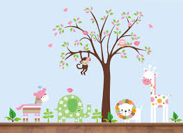 Bedroom Wall Decals Trees Decoration Ideas Heavenly Image Of Accessories For Kid Bedroom