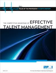 competitive advantage of effective talent management pmi