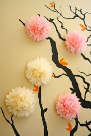 Baby Room Wall Murals by Apartment Cool Flower Cherry Blossom 3d Wall Mural Baby Nursery