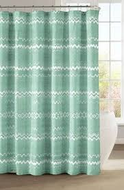kess inhouse rosie brown geometric tropic pink green shower
