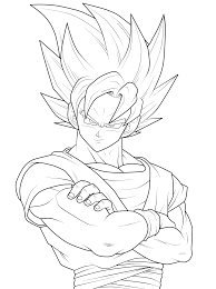 goku coloring pages resolution 670 867 categories goku added june
