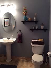 behr marquee intercoastal gray wall color bathroom pinterest