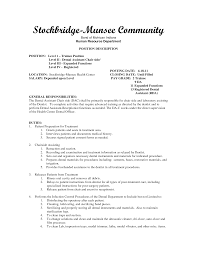 Sample Dental Hygienist Resume by 10 Write A Dental Assistant Resume That Wow Writing Resume Sample