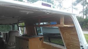 campervan build 5 kitchen vanity u0026 custom overhead cabinet