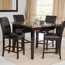 kitchen 3 piece dinette set pub dining table sets 5 piece