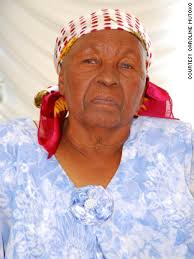 Caroline Mutoko believes that in order to work out what the women of Africa need, you must look at past generations. Like her grandmother pictured here. - 120502045803-mutoko-grandmother-vertical-gallery
