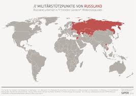 Former Soviet Union Map The World U0027s Five Military Empires Big Think