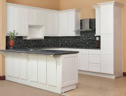 Ready Made Kitchen Cabinets by Contemporary Kitchen Cabinets White Shaker Throughout Design