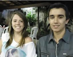 Emerson Cristiano Gonçalves, aniversariante do dia 2, e a namorada Aline Andrade Fresneda - emerson