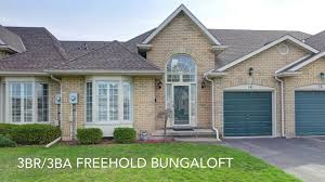 freehold bungaloft for sale grimsby ontario youtube